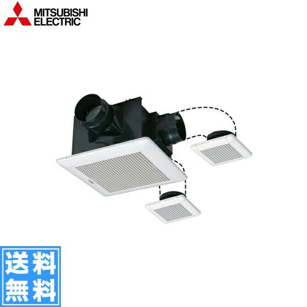 [VD-15ZFFLC10]三菱電機[MITSUBISHI]天井換気扇・天井扇[三部屋換気・低騒音タイプ]【送料無料】