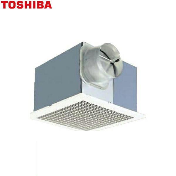 東芝[TOSHIBA]ダクト用換気扇メタルルーバータイプ低騒音ダクト用DVF-23MRQ8【送料無料】