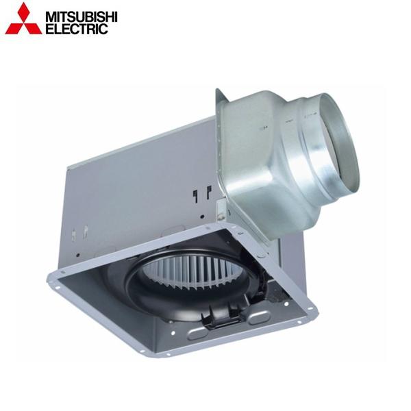 [VD-18ZLX12-IN]三菱電機[MITSUBISHI]天井換気扇・天井扇[低騒音タイプ][グリル別売タイプ]