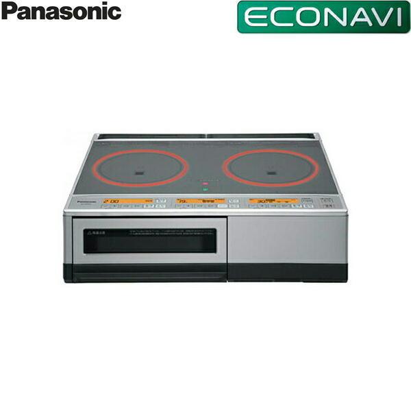 パナソニック[Panasonic]IHクッキングヒーター2口単相200V[据置][グレイッシュシルバー]KZ-D60KG【送料無料】, LANTERN Web Shop d52dfcc0
