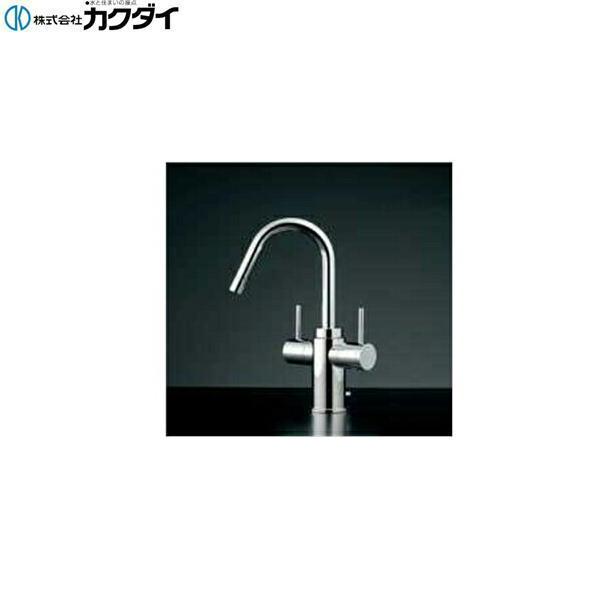 カクダイ[KAKUDAI]2ハンドル混合栓150-411[送料無料]