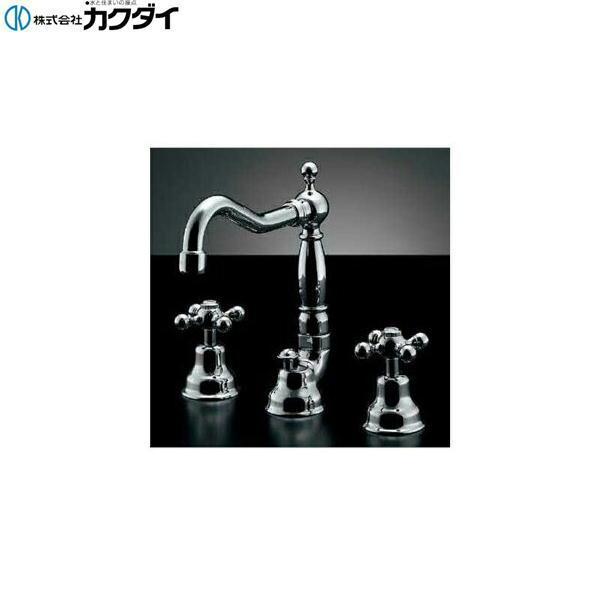 カクダイ[KAKUDAI]2ハンドル混合栓153-024[送料無料]