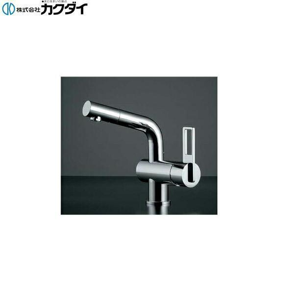 カクダイ[KAKUDAI]シングルレバー混合栓183-037[送料無料]
