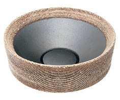 カクダイ[KAKUDAI]丸型手洗器493-024-SG(砂丘)