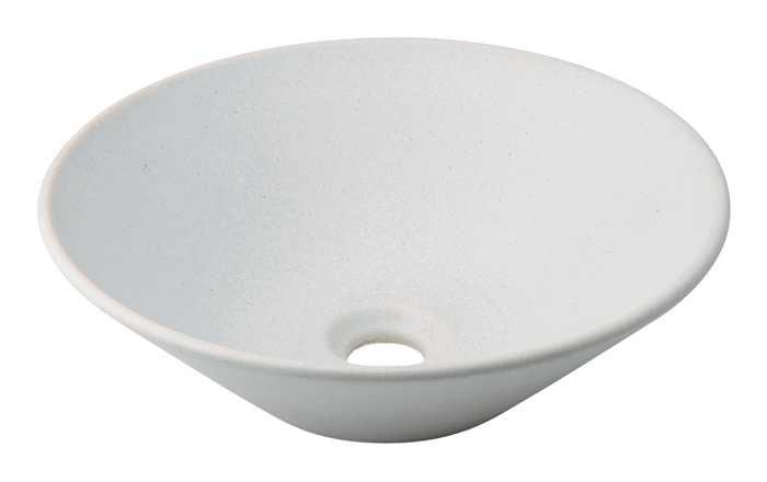 カクダイ[KAKUDAI]丸型手洗器493-037-W(月白)