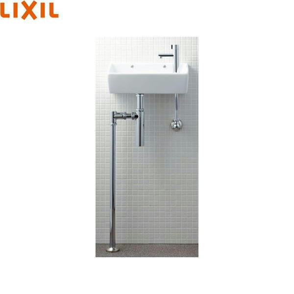 リクシル[LIXIL/INAX]狭小手洗シリーズ手洗タイプ[角形]L-A35HP[壁給水/床排水(ボトルトラップ)][ハイパーキラミック][送料無料]
