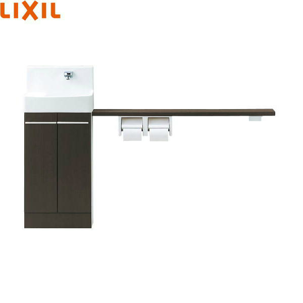 [YL-DA83SKW15E(J)]リクシル[LIXIL/INAX]トイレ手洗[コフレルワイド(壁付)]カウンターキャビネットタイプ[送料無料]