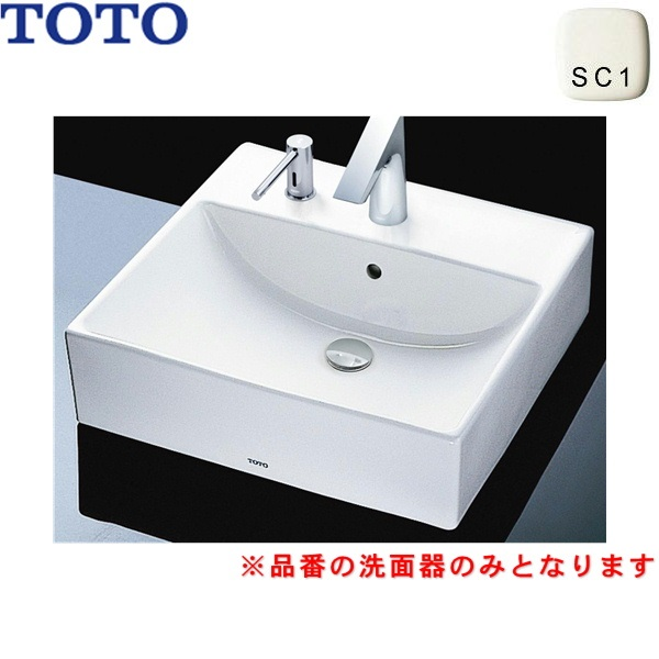 TOTO-L710CM#SC1 L710CM#SC1 TOTOカウンター式洗面器 直送商品 ベッセル式 定番 洗面器のみ
