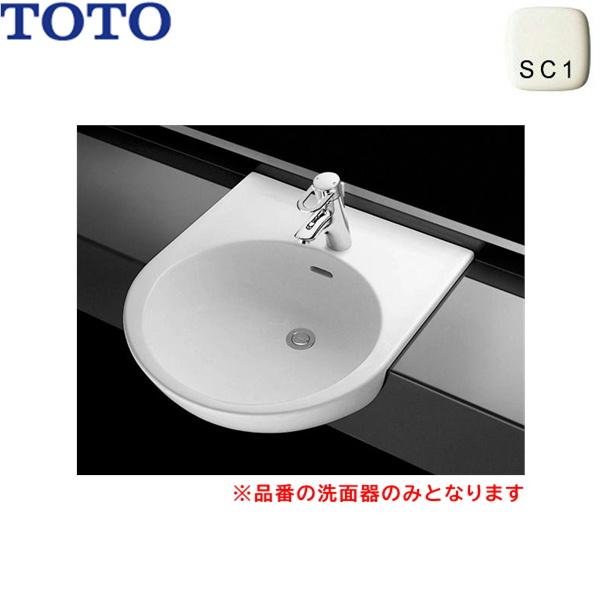 [全商品ポイント2倍 10/4(月)~10/11(土)][TOTO-L830CRU#SC1] [全商品ポイント2倍 10/4(月)~10/11(土)]L830CRU#SC1 TOTOカウンター式洗面器 セルフリミング式 洗面器のみ()