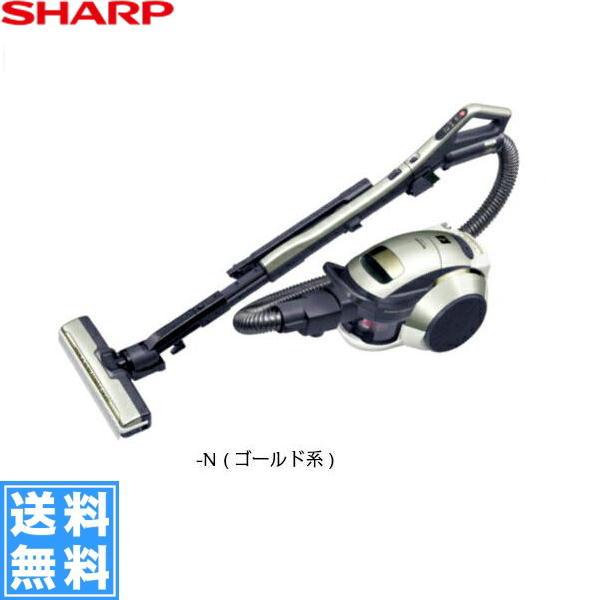 [EC-G8X-N]シャープ[SHARP]プラズマクラスター搭載2段階遠心分離サイクロン掃除機[ゴールド系][送料無料]