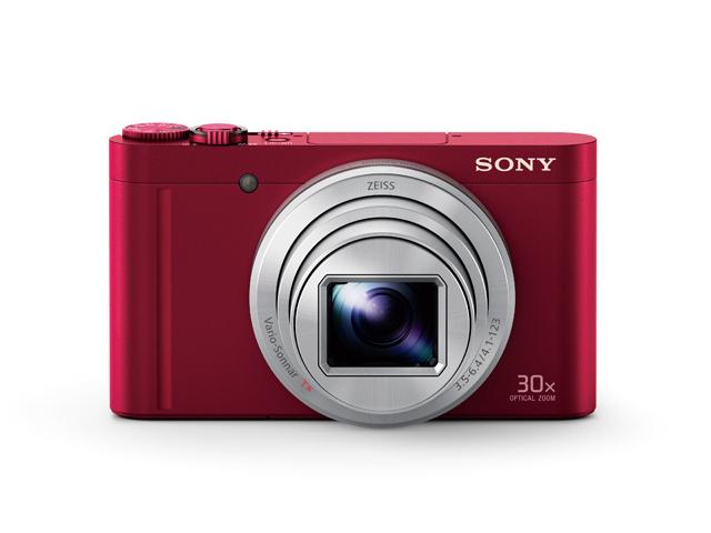 【納期約2週間】【お一人様1台限り】DSC-WX500 R 【送料無料】 [SONY ソニー] デジタルスチルカメラ サイバーショット Cyber-shot レッド DSCWX500R