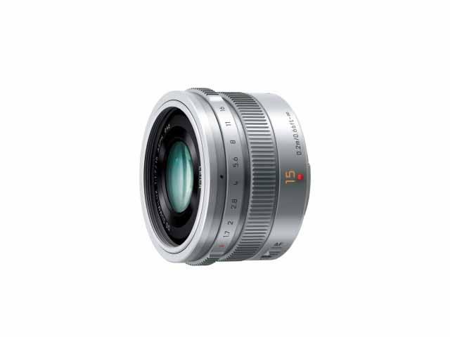 【納期約3週間】【お一人様1台限り】H-X015-S 【代引き不可】【送料無料】 [Panasonic パナソニック] デジタル一眼カメラ用交換レンズ  HX015S シルバー