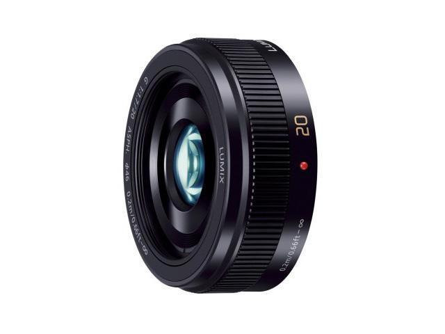 【納期約2週間】【お一人様1台限り】H-H020A-K 【送料無料】 [Panasonic パナソニック] デジタル一眼カメラ用交換レンズ HH020AK ブラック