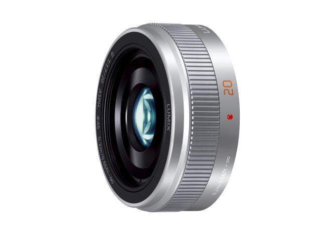 【納期約3週間】【お一人様1台限り】H-H020A-S 【送料無料】 [Panasonic パナソニック] デジタル一眼カメラ用交換レンズ HH020AS シルバー