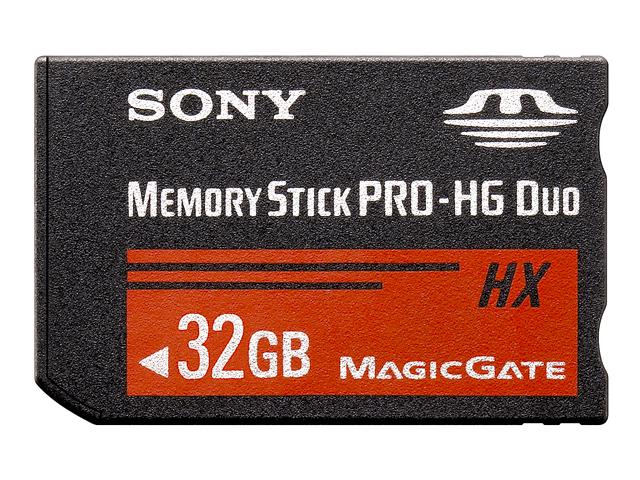 【納期約7~10日】MS-HX32B 【送料無料】[SONY ソニー] メモリースティック PRO-HG デュオ MSHX32B