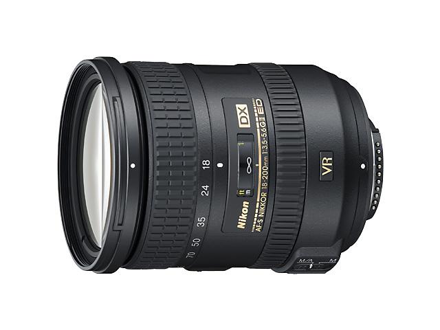 【納期約7~10日】【お一人様1台限り】AF-S DX NIKKOR 18-200mm F3.5-5.6G ED VR II 【送料無料】 [Nikon ニコン] AF-S DX NIKKOR 18-200mm F3.5-5.6G ED VR II ブラック AFSDXNIKKOR18200mmF3.55.6GEDVRII