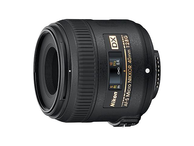 【納期約4週間】【お一人様1台限り】AF-S DX Micro NIKKOR 40mm f/2.8G 【送料無料】 [Nikon ニコン] AF-S DX Micro NIKKOR 40mm f/2.8G ブラック AFSDXMicroNIKKOR40mmf/2.8G