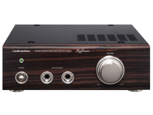 AT-HA5000 【送料無料】 [audio-technica オーディオテクニカ] デジタルヘッドホンアンプ Raffinato ATHA5000