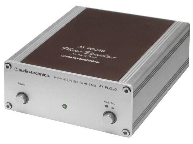 AT-PEQ20 【送料無料】 [audio-technica オーディオテクニカ] フォノイコライザー ATPEQ20