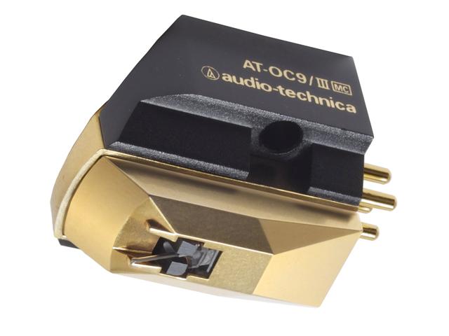AT-OC9/III ブラック 【送料無料】 [audio-technica オーディオテクニカ] MC型(デュアルムービングコイル)ステレオカートリッジ ATOC9/III