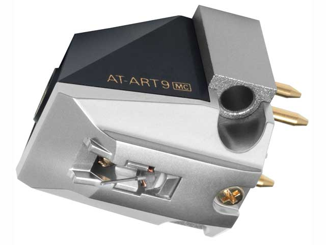 【納期約7~10日】★★AT-ART9 シルバー [audio-technica オーディオテクニカ] MC型ステレオカートリッジ ATART9