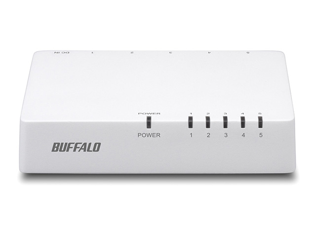 バーゲンセール BUFFALO 爆買いセール バッファロー LSW4-TX-5EPL WHD 10 100Mbps対応 スイッチングHub 5ポート 納期約2週間 LSW4TX5EPLWHD ホワイト プラスチック筐体 電源外付モデル