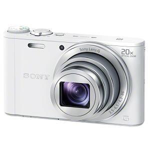 【納期約2週間】【お一人様1台限り】DSC-WX350(W)ホワイト【送料無料】[SONY ソニー]デジタルスチルカメラ Cyber-shot(サイバーショット) DSCWX350W