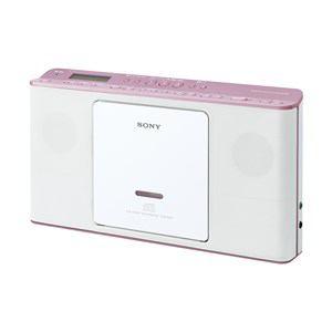 【納期約4週間】ZS-E80-PC[SONY ソニー] CDラジオ ピンク ZSE80PC