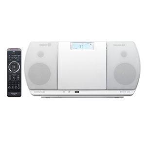 【納期約7~10日】CR-D3-W【送料無料】[KENWOOD ケンウッド] ミニコンポ USBパーソナルオーディオシステム ホワイト CRD3W