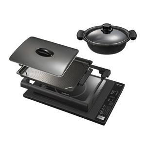 【納期約3週間】KZ-HP2100-K 【送料無料】[]Panasonic パナソニック] 卓上IH調理器 IHホットプレート KZHP2100