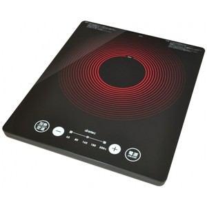 【送料無料】DI-301BK ドリテック うす型フラットIH調理器 ブラック DI301BK