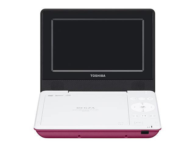 【納期約3週間】【送料無料】SD-P710SP ピンク [TOSHIBA 東芝] ポータブルDVDプレーヤー SDP710SP