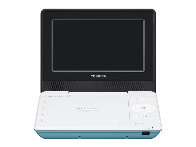 【納期約7~10日】【送料無料】SD-P710SG グリーン [TOSHIBA 東芝] ポータブルDVDプレーヤー SDP710SG