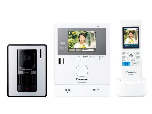 【送料無料】VL-SWD302KL [Panasonic パナソニック] テレビドアホン VLSWD302KL