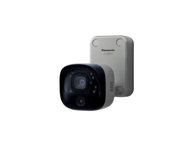 【納期約4週間】【送料無料】VL-WD712K [Panasonic パナソニック] センサーライト付屋外ワイヤレスカメラ VLWD712K