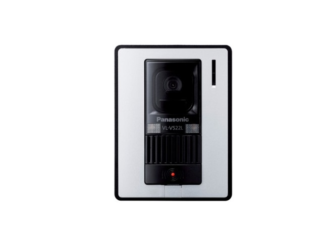 【送料無料】VL-V522L-WS [Panasonic パナソニック] カラーカメラ玄関子機 VLV522LWS