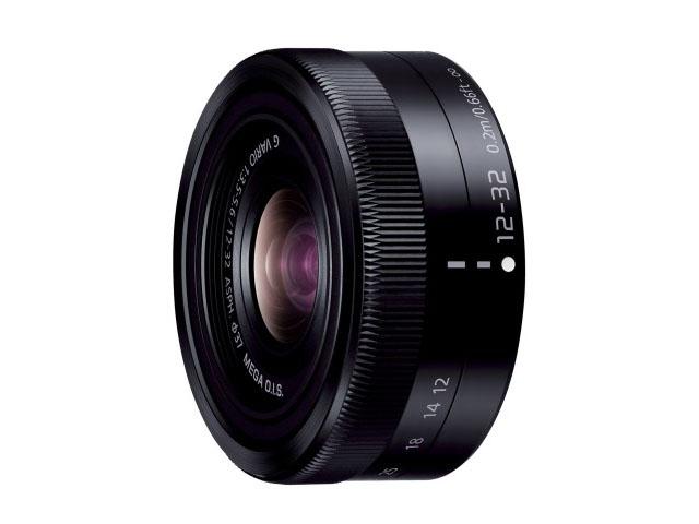 【納期約2週間】【お一人様1台限り】H-FS12032-K 【送料無料】[Panasonic パナソニック] デジタル一眼カメラ用交換レンズ ブラック HFS12032K
