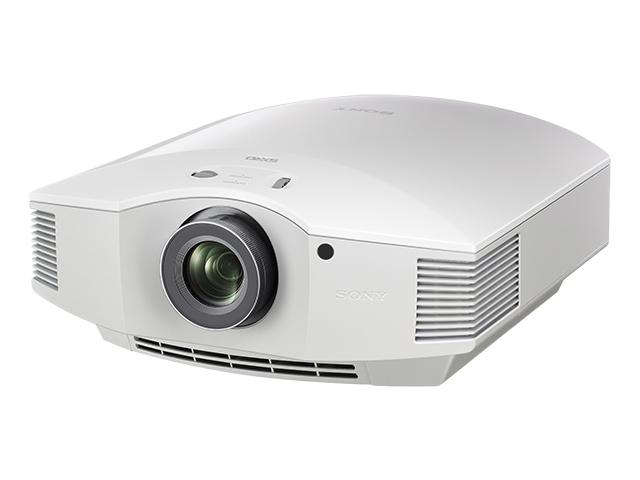 【納期8月下旬頃】VPL-HW60 W 【送料無料】[SONY ソニー] ビデオプロジェクター ホワイト VPLHW60W