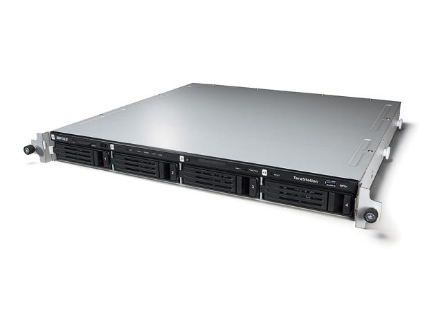 WS5400RN0804S2 【送料無料】{BUFFALO バッファロー] テラステーション WSS 2012 R2 SE搭載 4ドライブ NAS ラックマウントモデル 8TB WS5400RN0804S2