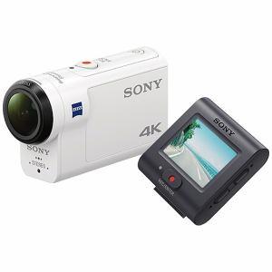 【納期約2週間】【お一人様1台限り】FDR-X3000R 【送料無料】[SONY ソニー] デジタル4Kビデオカメラレコーダー アクションカム ライブビューリモコンキット FDRX3000R
