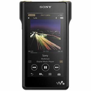 【納期約2週間】NW-WM1A-B 【代引き不可】【送料無料】[SONY ソニー] ハイレゾ音源対応 ウォークマン WM1シリーズ 128GB ブラック NWWM1AB