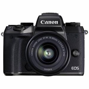 【納期約1~2週間】EOSM5-1545ISSTMLK 【送料無料】【代引き不可】[canon キヤノン] ミラーレス一眼カメラ EOS M5EFM1545ISSTM レンズキット