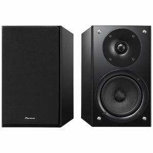 【納期約7~10日】S-HM86-LR-B 【送料無料】[Pioneer パイオニア] ハイレゾ音源対応 ブックシェルフ型スピーカー ペア ブラック SHM86LRB