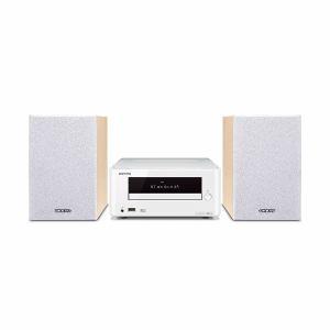 【納期約1~2週間】X-U6-W 【送料無料】[ONKYO オンキョー]Bluetooth対応CDレシーバーシステム ホワイト XU6W
