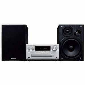 【納期約2週間】6Panasonic パナソニック SC-PMX80-S 【ハイレゾ音源対応】 CDステレオシステム シルバー SCPMX80
