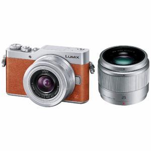 【納期約3週間】DC-GF9W-D 【代引不可】【送料無料】[Panasonic パナソニック]ミラーレス一眼カメラ 「LUMIX GF9」 ダブルレンズキット オレンジ DCGF9WD