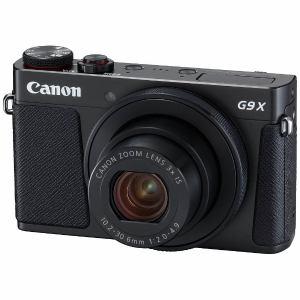 【納期約1~2週間】【お一人様1台限り】PSG9XMK2BK [canon キヤノン] コンパクトデジタルカメラ PowerShot(パワーショット) G9 X Mark II(ブラック)