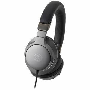 【納期約1~2週間】ATH-AR5-BK 【送料無料】[audio-technica オーディオテクニカ] 【ハイレゾ音源対応】 ダイナミック密閉型ヘッドホン(スティールブラック) ATHAR5BK