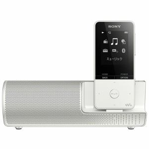 【納期約7~10日】SONY ソニー NW-S315K-W ウォークマン Sシリーズ[メモリータイプ] 16GB スピーカー付属 ホワイト NWS315KWC