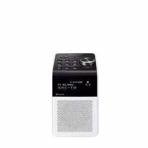 【納期約4週間】Panasonic パナソニック RF-200BT-W FM/AM 2バンドラジオ ホワイト RF200BT